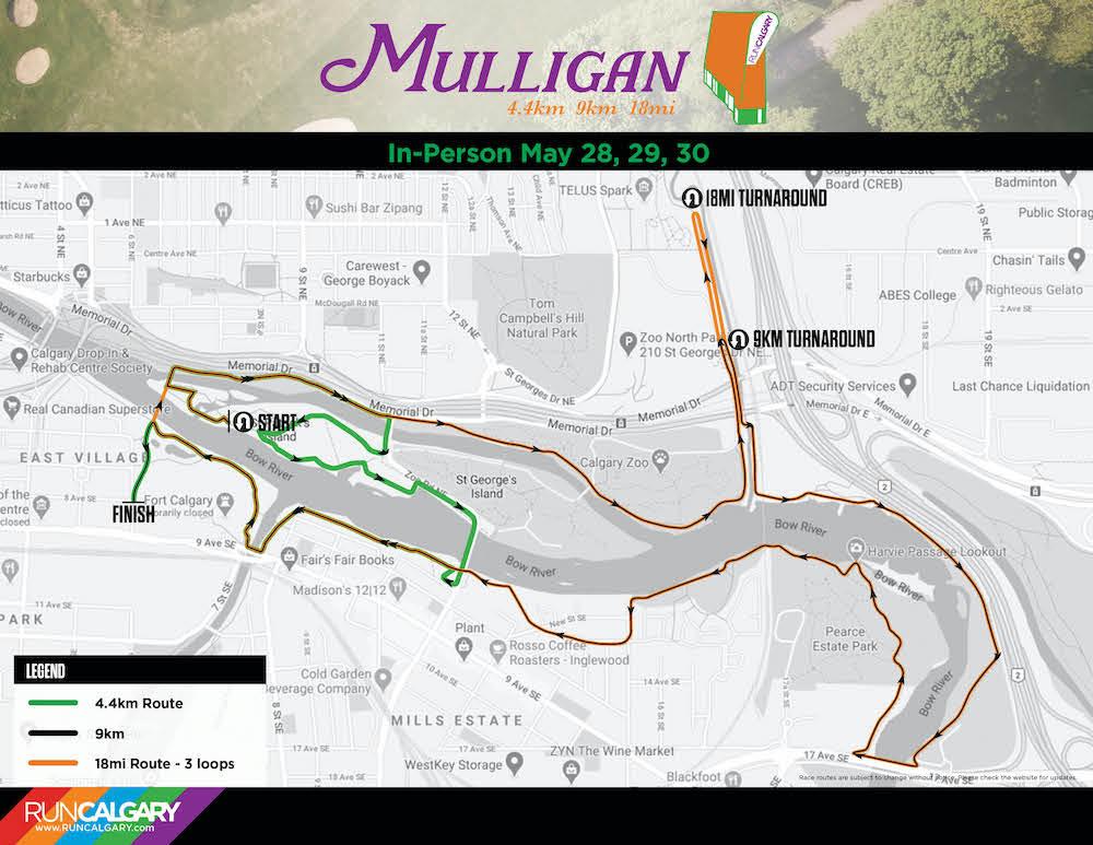 mulligan course map